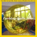 CWB16 Color Zorb Ball on Water