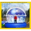 Snowball 33 Inflatable Christmas Snowing Globe