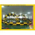 21 Inflatable Zorbing Ball Racing Track