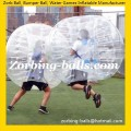 Soccer Bubbles Zorb Ball