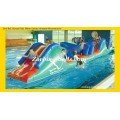 Inflatable Obstacle Course on Water