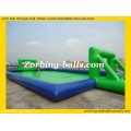 Inflatable Soccer Pitch Game