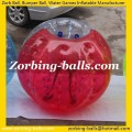 Inflatable Soccer Bubble Ball Suit Half Red