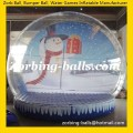 Snow Ball 11 Inflatable Snowing Globe