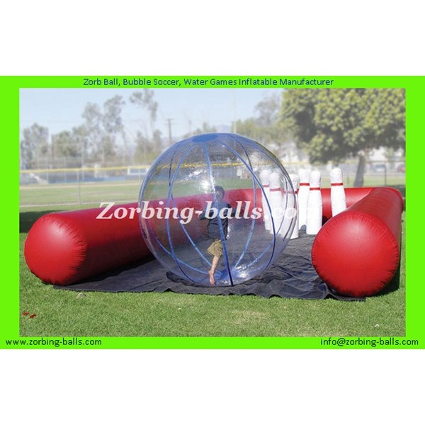 29 Zorb Bowling and Track Inflatable