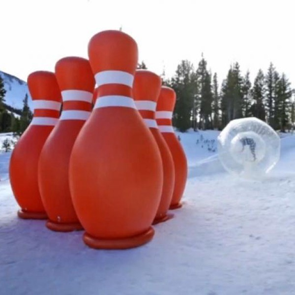 Zorb Bowling Human Balls
