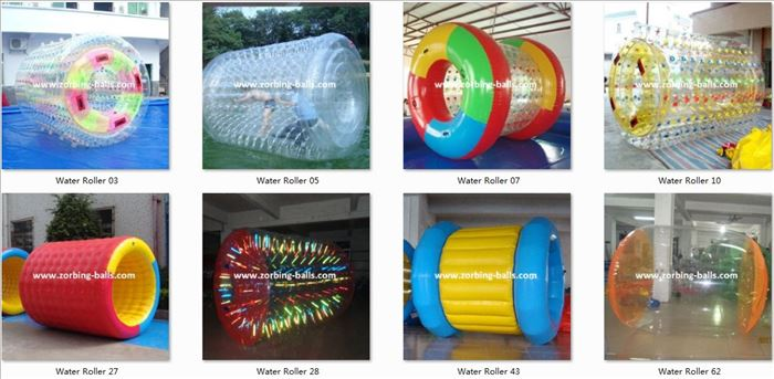 Water Roller, Water Roller Ball, Water Walking Roller, Inflatable Roller Ball